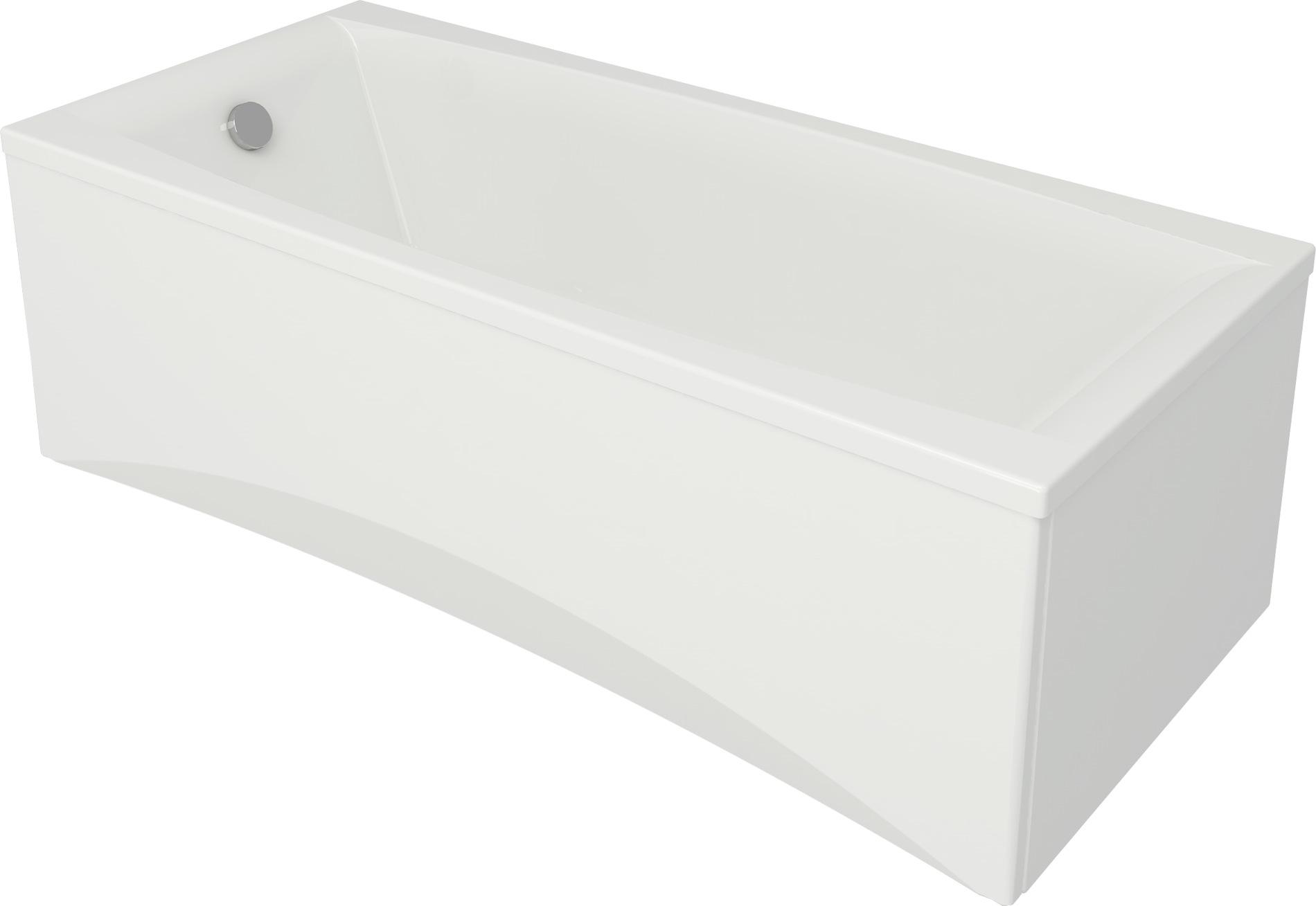 badewanne wanne rechteck 140 150 160 170 x 75 cm 180 x 80 cm sch rze ab ber ebay. Black Bedroom Furniture Sets. Home Design Ideas