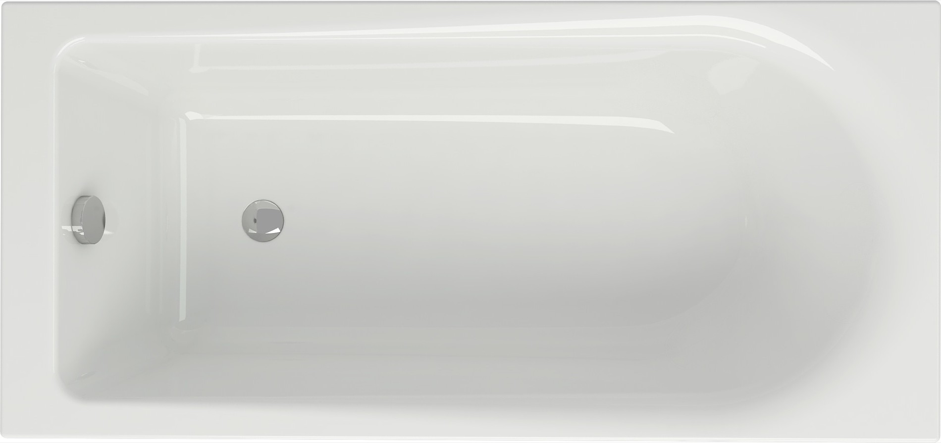badewanne wanne rechteck 150 x 70 cm ohne mit sch rze ab berlauf cersanit ebay. Black Bedroom Furniture Sets. Home Design Ideas