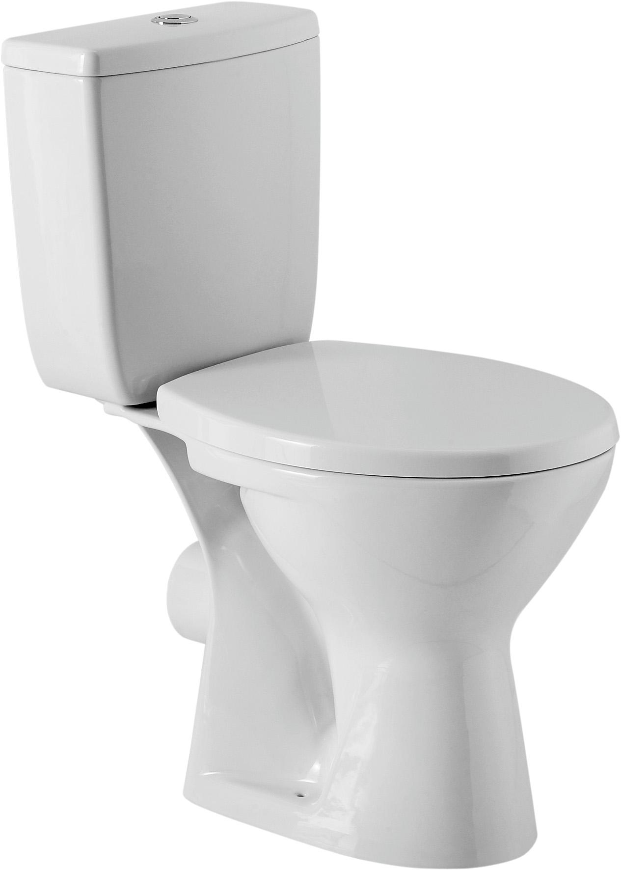 wc toilette stand tiefsp ler set bodenstehend sp lkasten keramik sitz cersanit z ebay. Black Bedroom Furniture Sets. Home Design Ideas
