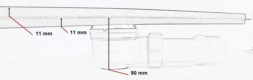 duschrinne edelstahl ablaufrinne bodenablauf rinne mit siphon rost dusche alba ebay - Ablaufrinne Dusche 60 Cm