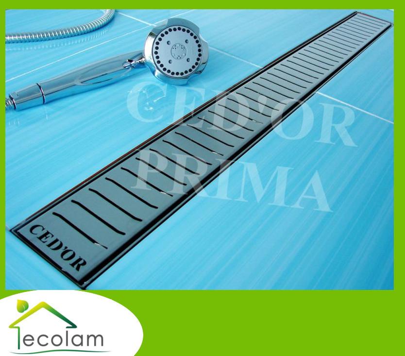 Dusche Ablaufrinne Reinigen : Edelstahl Ablaufrinne Bodenablauf Rinne mit Siphon Rost Dusche Fala