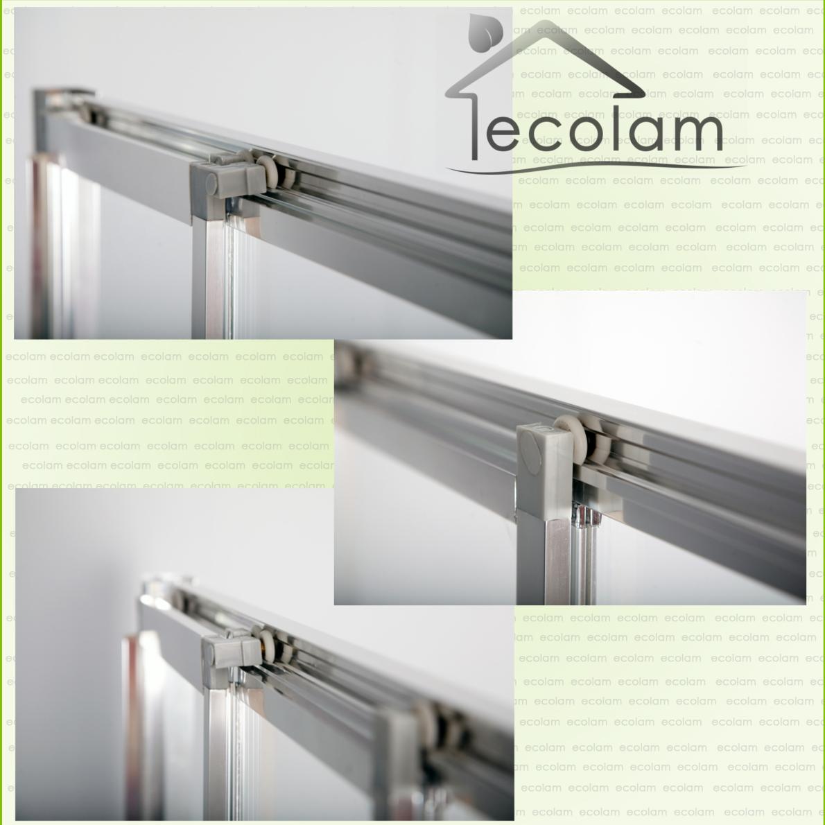 duschkabine duschwanne glaswand schiebet r echtglas 100 x 80 h he 185 cm ebay. Black Bedroom Furniture Sets. Home Design Ideas