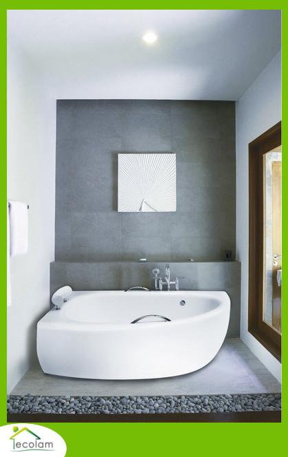 badewanne eckwanne 150 x 70 cm sch rze handgriffe nackenkissen kopfst tze links ebay. Black Bedroom Furniture Sets. Home Design Ideas