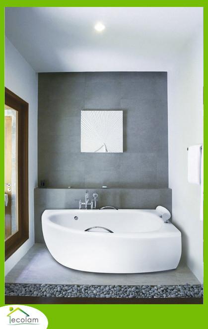 badewanne wanne eckwanne 150 x 70 cm sch rze ablauf. Black Bedroom Furniture Sets. Home Design Ideas