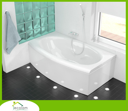badewanne wanne rechteck acryl 160 x 75 cm sch rze. Black Bedroom Furniture Sets. Home Design Ideas
