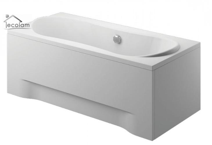 badewanne wanne rechteck 180 x 80 cm mit ohne sch rze ablauf silikon polimat ebay. Black Bedroom Furniture Sets. Home Design Ideas