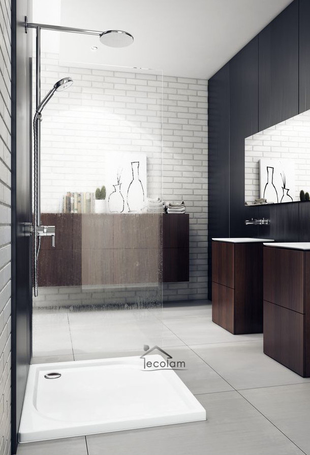duschwanne duschtasse viereck flach dusche 90 x 90 x 4 5 cm acryl siphon calido ebay. Black Bedroom Furniture Sets. Home Design Ideas