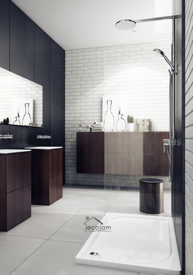 duschwanne duschtasse rechteck flach dusche 120 x 80 x 5 x 3 cm siphon calido ebay. Black Bedroom Furniture Sets. Home Design Ideas